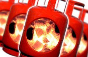 Заправка сжиженным газом газгольдера