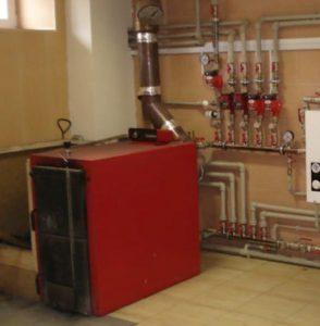 Принцип отопления сжиженным газом