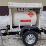 Мобильный газгольдер для заправки пропан-бутан газом: когда используют, преимущества.